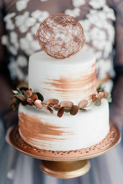 медный торт | Тренды дизайна тортов 2018-2019 | Блог | Торт на заказ