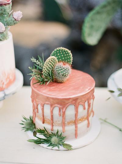торт украшенный кактусом | Тренды дизайна тортов 2018-2019 | Блог | Торт на заказ