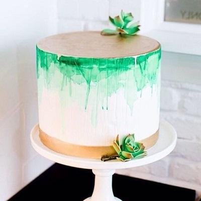 акварельный торт | Тренды дизайна тортов 2018-2019 | Блог | Торт на заказ