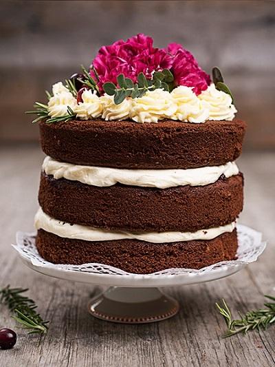 голый торт | Тренды дизайна тортов 2018-2019 | Блог | Торт на заказ