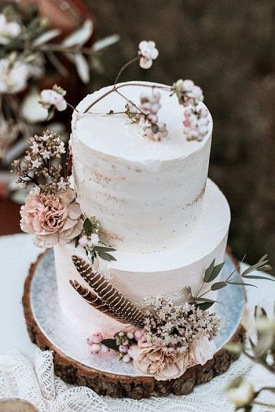 лесной торт | Тренды дизайна тортов 2018-2019 | Блог | Торт на заказ