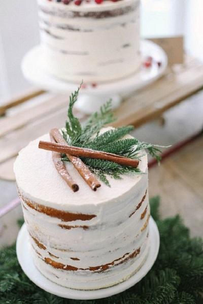 торт украшенный папоротником | Тренды дизайна тортов 2018-2019 | Блог | Торт на заказ