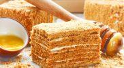 Торт Медовик — классический рецепт