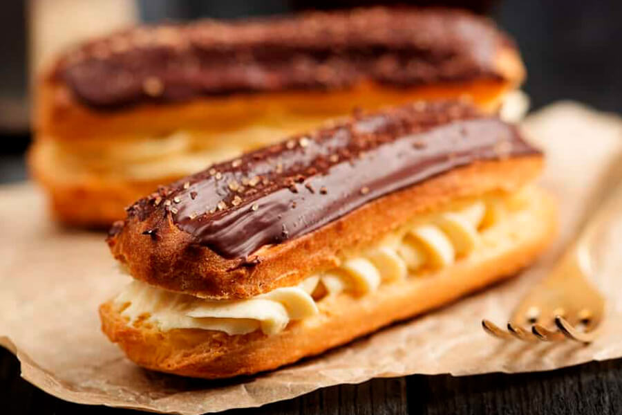 Эклеры | Мировые десерты | Эклеры и профитроли на заказ во Львове