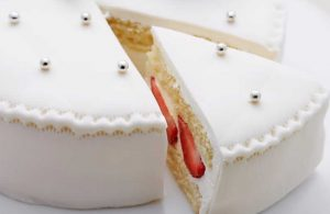 Белый свадебный торт | Заказать свадебный торт во Львове