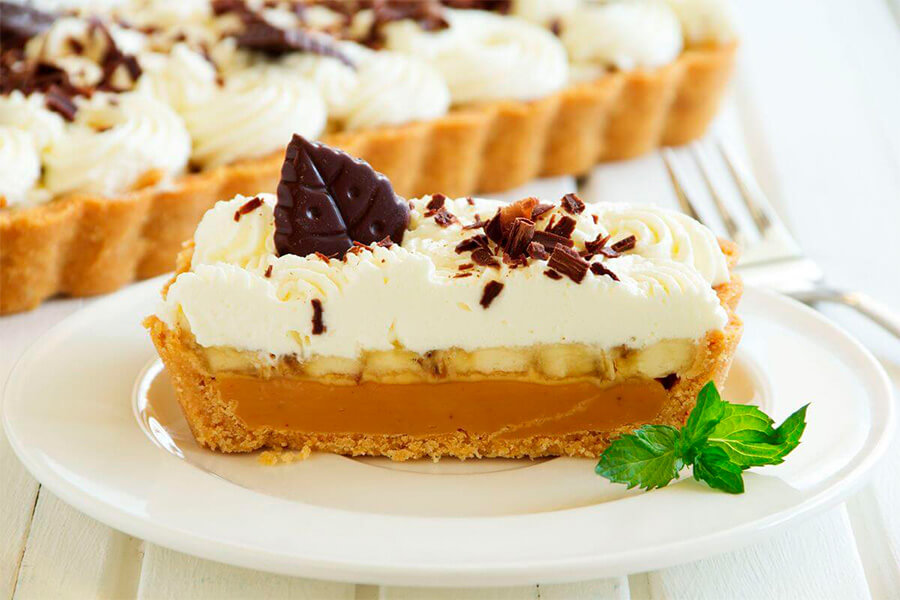 Тарт Баноффи | Мировые десерты | Десерты на заказ во Львове