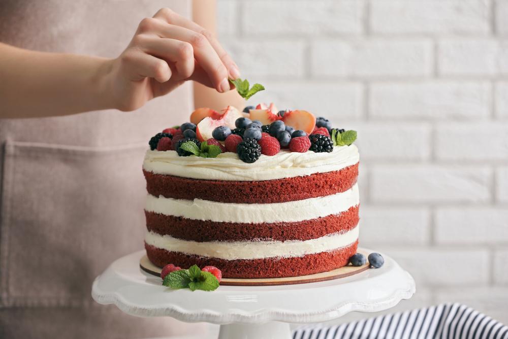 Легкий декор тортов дома | Торт на заказ во Львове