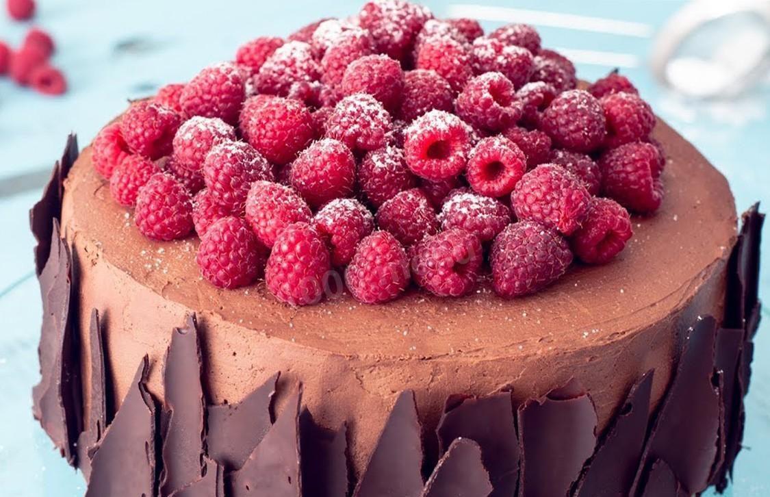 Декор торта шоколадом | Торт на заказ во Львове