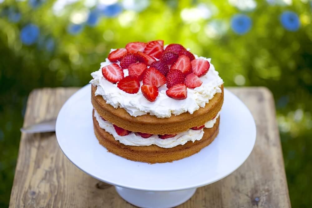 Декор торта фруктами | Торт на заказ во Львове