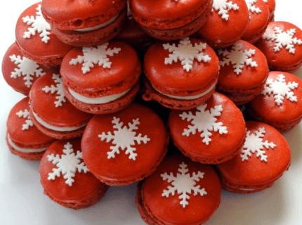 Макаруны на Новый год | Торт на заказ во Львове