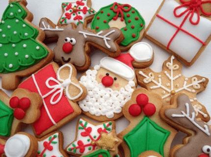 Пряники на новогодний корпоратив | Торт на заказ во Львове