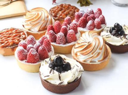 Тарталетки на новогодний корпоратив | Торт на заказ во Львове