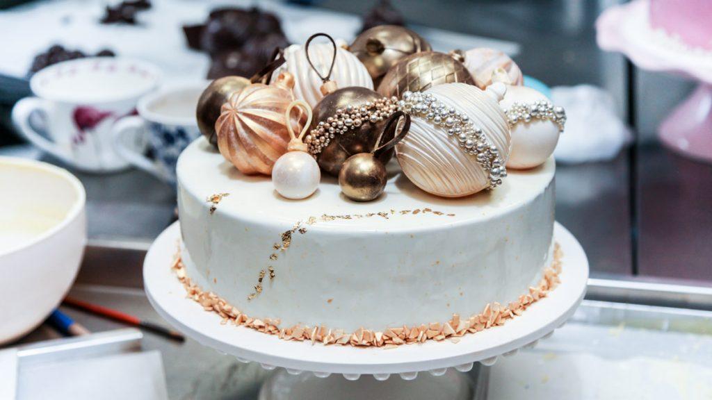 Декор тортов на Новый год | Торт на заказ во Львове