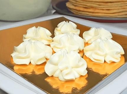 Начинка для эклеров - крем Дипломат | Торт на заказ во Львове