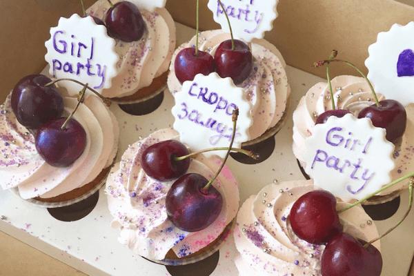 Капкейки на девичник | Торт на заказ во Львове