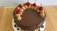 Торт Пьяная вишня – рецепт