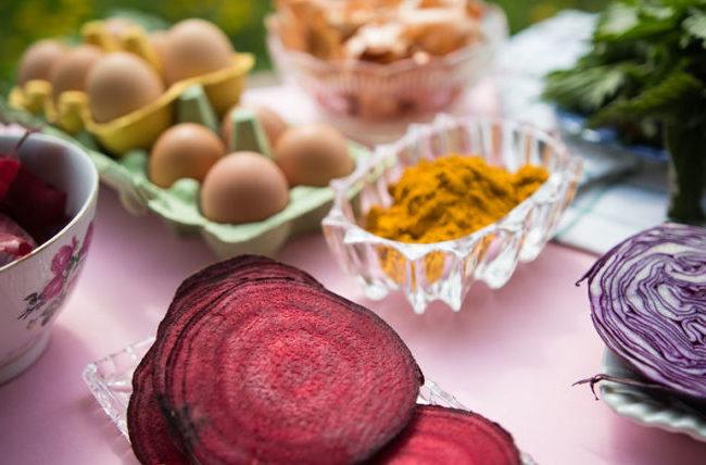 Натуральные пищевые красители для торта